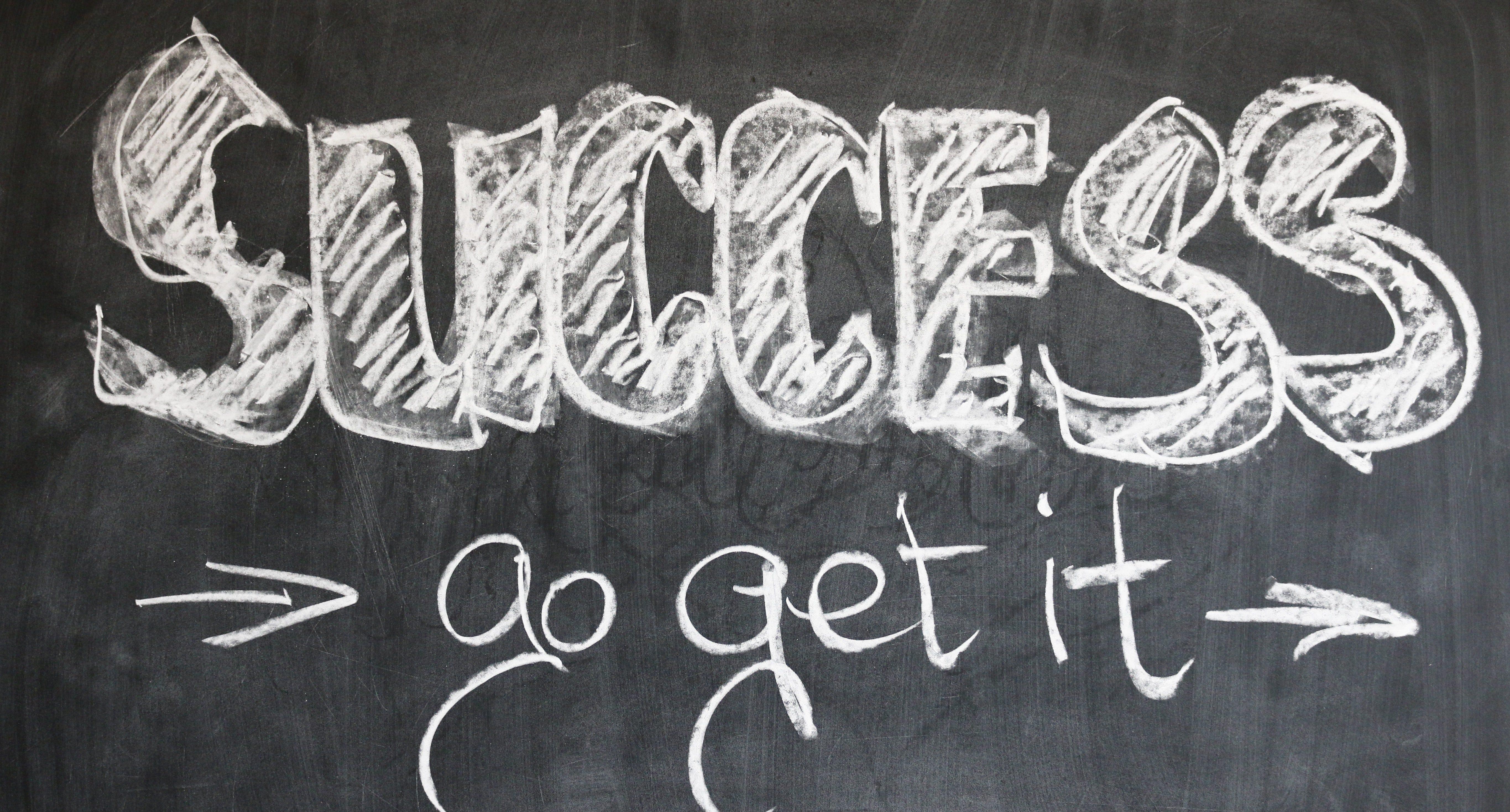 success_chalkboard